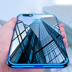 Funda Silicona Ultrafina Transparente T10 para Huawei Enjoy 7 Claro