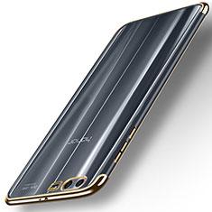 Funda Silicona Ultrafina Transparente T12 para Huawei Honor 9 Oro