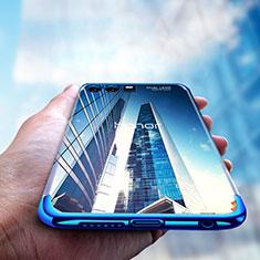 Funda Silicona Ultrafina Transparente T15 para Huawei Honor 9 Premium Azul