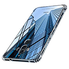 Funda Silicona Ultrafina Transparente T16 para Huawei Mate 9 Claro