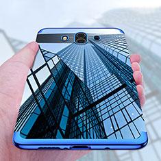 Funda Silicona Ultrafina Transparente T17 para Huawei Mate 10 Azul