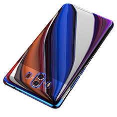 Funda Silicona Ultrafina Transparente T18 para Huawei Mate 10 Azul