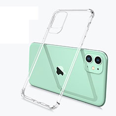 Funda Silicona Ultrafina Transparente U03 para Apple iPhone 11 Claro