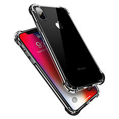 Funda Silicona Ultrafina Transparente V10 para Apple iPhone X Claro