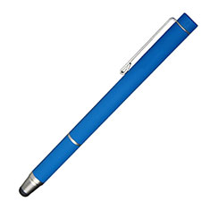 Lapiz Optico de Pantalla Tactil Capacitivo Universal P16 para Apple iPhone 12 Mini Azul