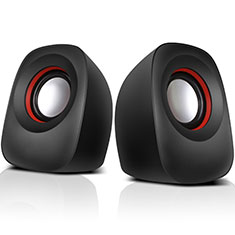 Mini Altavoz Portatil Altavoces Estereo W01 para Sharp AQUOS Sense4 Plus Negro