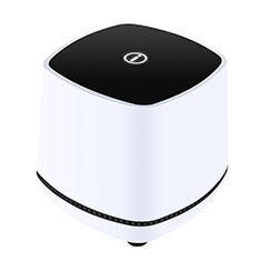 Mini Altavoz Portatil Altavoces Estereo W06 para Samsung Galaxy Book Flex 13.3 NP930QCG Blanco
