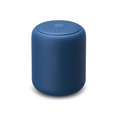 Mini Altavoz Portatil Bluetooth Inalambrico Altavoces Estereo K02 para Apple iPhone 11 Pro Azul