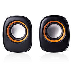 Mini Altavoz Portatil Bluetooth Inalambrico Altavoces Estereo K04 para Apple MacBook 12 Negro