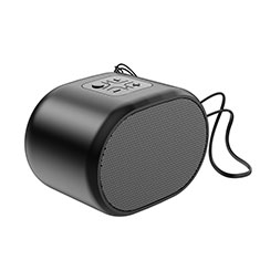 Mini Altavoz Portatil Bluetooth Inalambrico Altavoces Estereo K06 para Samsung Galaxy A8+ A8 Plus 2018 A730F Negro