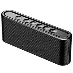 Mini Altavoz Portatil Bluetooth Inalambrico Altavoces Estereo K07 para Samsung Galaxy A8+ A8 Plus 2018 A730F Negro