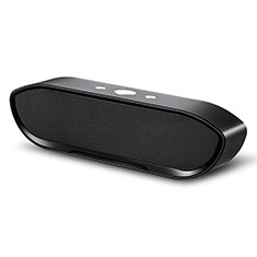 Mini Altavoz Portatil Bluetooth Inalambrico Altavoces Estereo S16 para Sharp AQUOS Sense4 Plus Negro