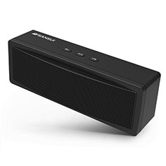 Mini Altavoz Portatil Bluetooth Inalambrico Altavoces Estereo S19 para Sharp AQUOS Sense4 Plus Negro