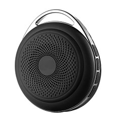 Mini Altavoz Portatil Bluetooth Inalambrico Altavoces Estereo S20 para Sharp AQUOS Sense4 Plus Negro