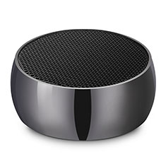 Mini Altavoz Portatil Bluetooth Inalambrico Altavoces Estereo S25 para Sharp AQUOS Sense4 Plus Negro