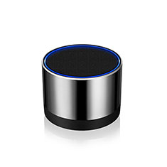 Mini Altavoz Portatil Bluetooth Inalambrico Altavoces Estereo S27 para Samsung Galaxy Book Flex 13.3 NP930QCG Plata