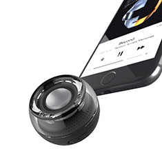 Mini Altavoz Portatil Bluetooth Inalambrico Altavoces Estereo S28 para Sharp AQUOS Sense4 Plus Negro