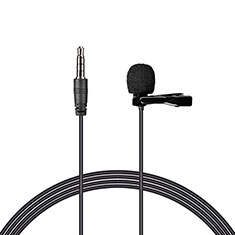Mini Microfono Estereo de 3.5 mm K08 para Apple iPhone 7 Negro