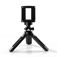 Palo Selfie Stick Tripode Bluetooth Disparador Remoto Extensible Universal T02 para Apple iPhone 11 Pro Max Negro