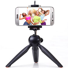 Palo Selfie Stick Tripode Bluetooth Disparador Remoto Extensible Universal T05 para Apple iPhone 11 Pro Max Negro