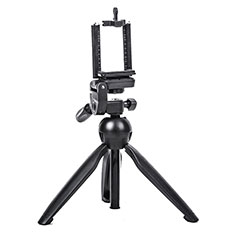 Palo Selfie Stick Tripode Bluetooth Disparador Remoto Extensible Universal T08 para Apple iPhone 11 Pro Max Negro