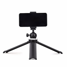 Palo Selfie Stick Tripode Bluetooth Disparador Remoto Extensible Universal T14 para Apple iPhone 11 Pro Max Negro