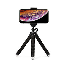 Palo Selfie Stick Tripode Bluetooth Disparador Remoto Extensible Universal T16 para Apple iPhone 11 Pro Max Negro