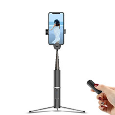 Palo Selfie Stick Tripode Bluetooth Disparador Remoto Extensible Universal T20 para Apple iPhone 11 Pro Max Negro