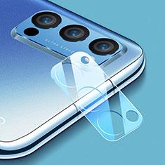 Protector de la Camara Cristal Templado C01 para Oppo Reno4 Pro 5G Claro