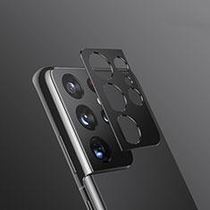Protector de la Camara Cristal Templado para Samsung Galaxy S21 Ultra 5G Negro