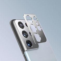 Protector de la Camara Cristal Templado para Samsung Galaxy S21 Ultra 5G Plata