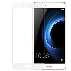 Protector de Pantalla Cristal Templado 3D para Huawei Honor V8 Blanco