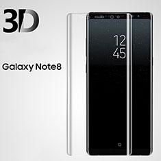 Protector de Pantalla Cristal Templado 3D para Samsung Galaxy Note 8 Claro