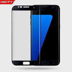 Protector de Pantalla Cristal Templado 3D para Samsung Galaxy S7 Edge G935F Negro