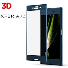Protector de Pantalla Cristal Templado 3D para Sony Xperia XZ Azul