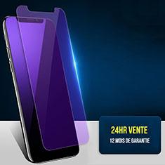 Protector de Pantalla Cristal Templado Anti luz azul B02 para Apple iPhone Xs Max Azul