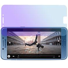 Protector de Pantalla Cristal Templado Anti luz azul para Samsung Galaxy C7 Pro C7010 Azul