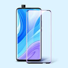 Protector de Pantalla Cristal Templado Integral Anti luz azul para Huawei Enjoy 10 Plus Negro