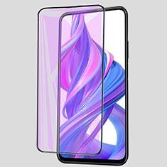 Protector de Pantalla Cristal Templado Integral Anti luz azul para Huawei Honor 9X Negro