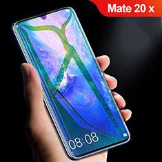 Protector de Pantalla Cristal Templado Integral Anti luz azul para Huawei Mate 20 X Negro