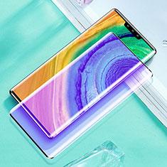 Protector de Pantalla Cristal Templado Integral Anti luz azul para Huawei Mate 30E Pro 5G Negro