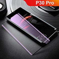 Protector de Pantalla Cristal Templado Integral Anti luz azul para Huawei P30 Pro Blanco