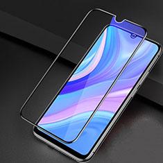 Protector de Pantalla Cristal Templado Integral Anti luz azul para Huawei Y8p Negro