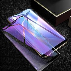 Protector de Pantalla Cristal Templado Integral Anti luz azul para Oppo A12e Negro