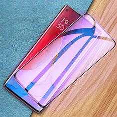 Protector de Pantalla Cristal Templado Integral Anti luz azul para Oppo Reno3 Pro Negro