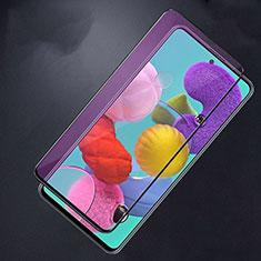 Protector de Pantalla Cristal Templado Integral Anti luz azul para Samsung Galaxy A51 5G Negro