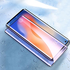 Protector de Pantalla Cristal Templado Integral Anti luz azul para Vivo X50 Pro 5G Negro