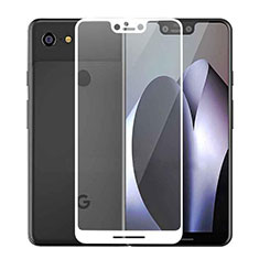 Protector de Pantalla Cristal Templado Integral F02 para Google Pixel 3 XL Blanco