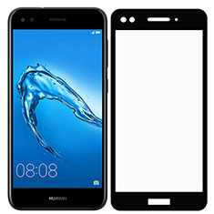 Protector de Pantalla Cristal Templado Integral F02 para Huawei Enjoy 7 Negro