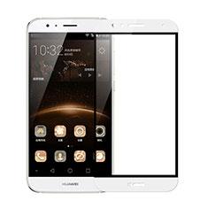 Protector de Pantalla Cristal Templado Integral F02 para Huawei G8 Blanco